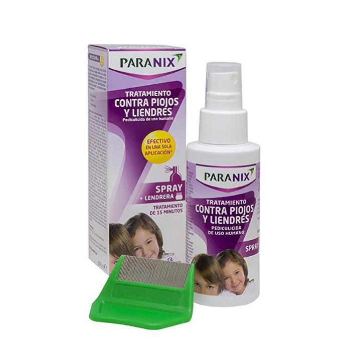 Paranix Spray contra piojos y liendres 100ml + lendrera