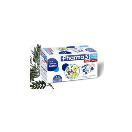 Pharma 3 diet&detox 25 bolsitas