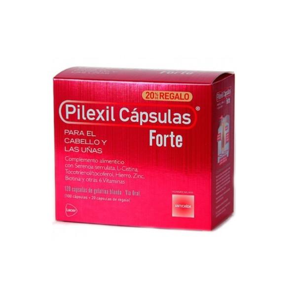 Pilexil capsulas forte 100 Capsulas
