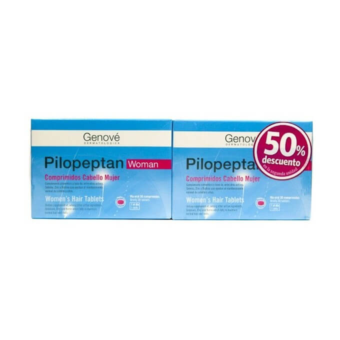Pilopeptan Woman Pack Duplo 30+30 comprimidos