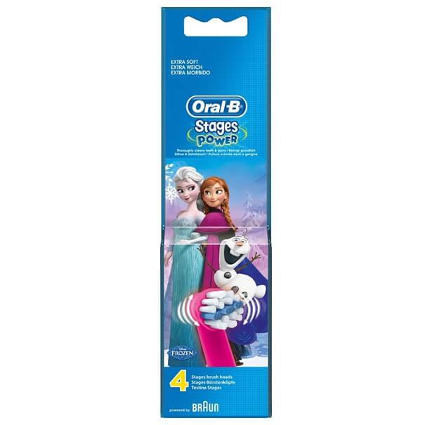 Recambios oral-b frozen 4 uds