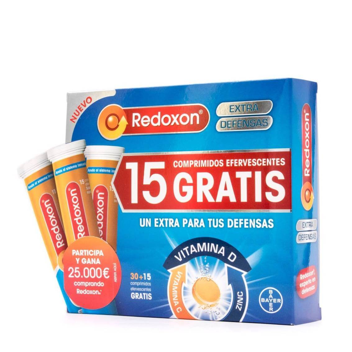 Redoxon 30 comprimidos + 15 comprimidos de regalo