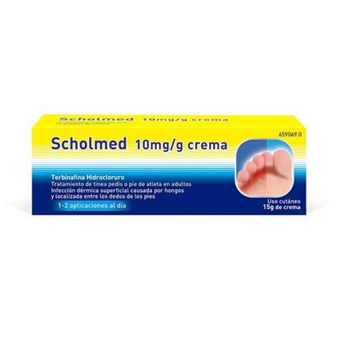 Scholmed 10mg/g Crema 15 gramos