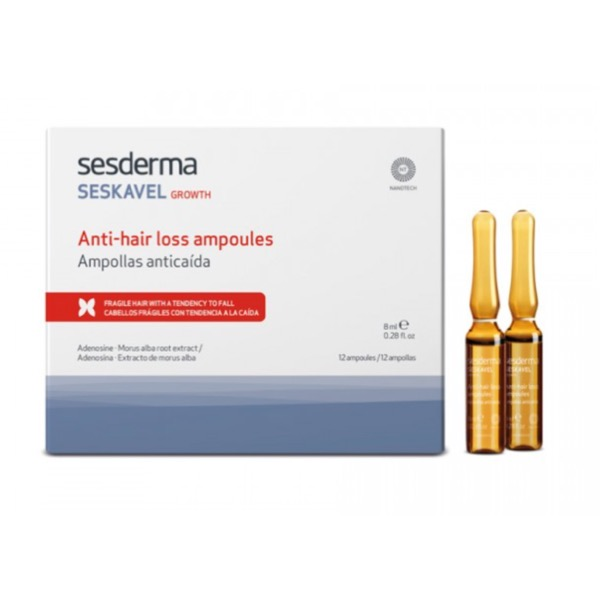 Sesderma seskavel growth 12 ampollas