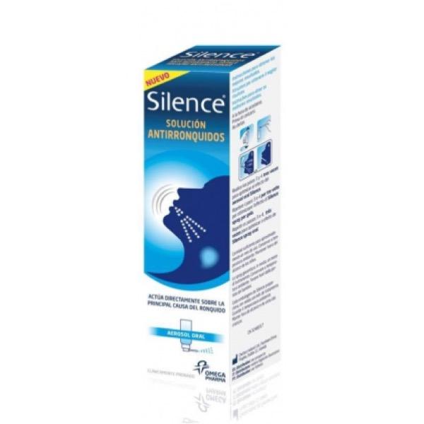 Silence antironquidos efecto inmediato 50 ml