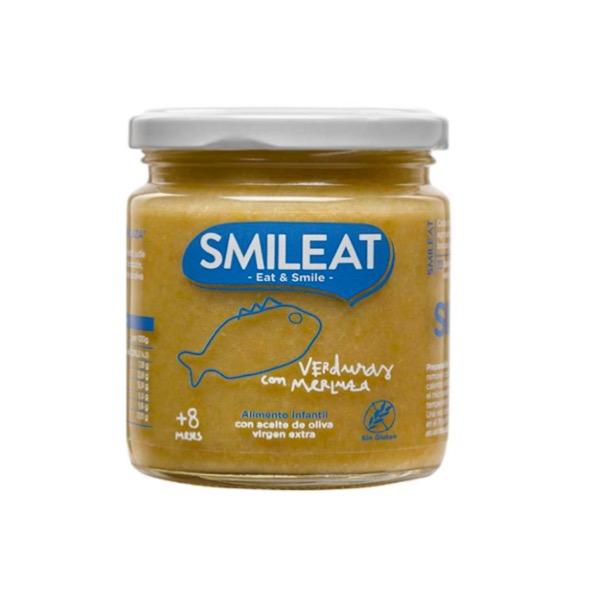 Smileat tarrito ecologico verduras con merluza +8m 230g