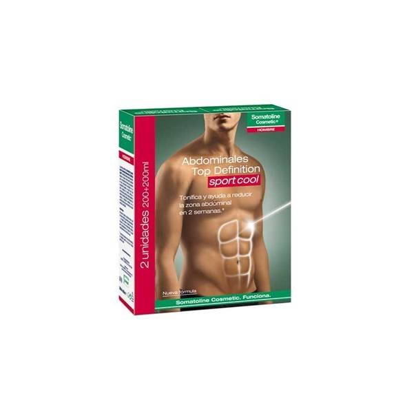Somatoline Cosmetic Abdominal Top Definition Sport duplo 200ml+200ml
