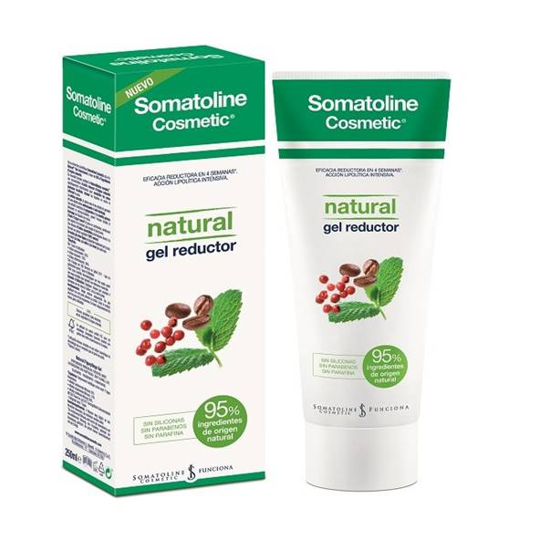 somatoline cosmetic natural gel reductor