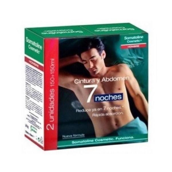 Somatoline hombre cintura y abdomen duplo 2x150 ml
