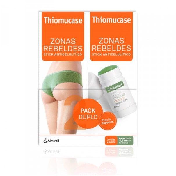 Thiomucase Stick Zonas Rebeldes Pack Duplo