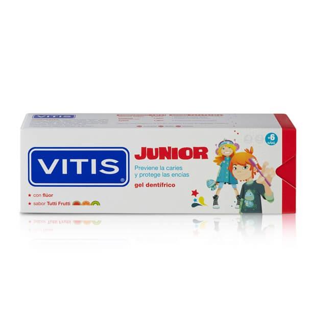 Vitis junior gel 75 ml sabor tutti frutti