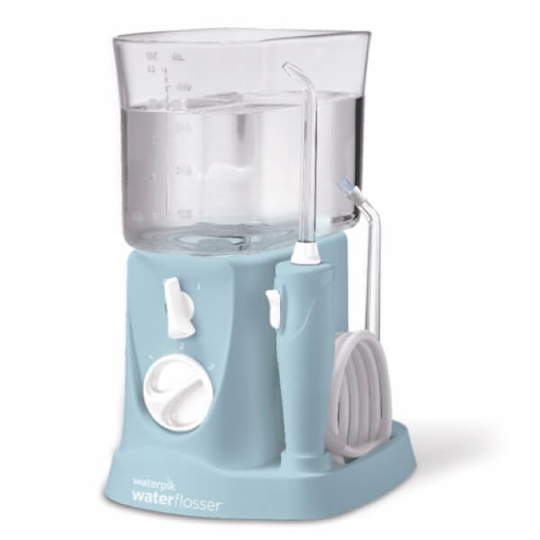 Waterpik irrigador bucal traveler wp-300 azul