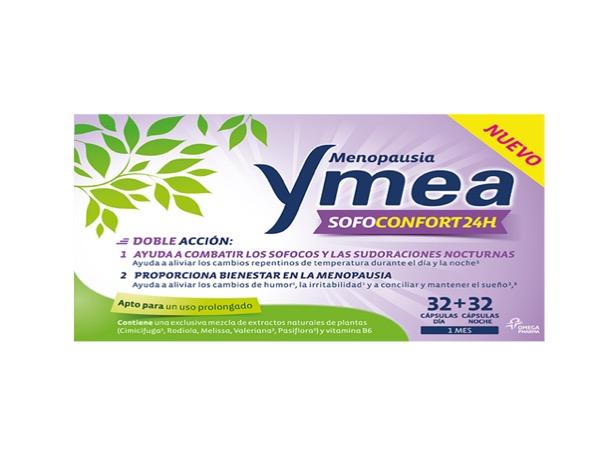 Ymea menopausia sofoconfort 24 horas 32+32 capsulas