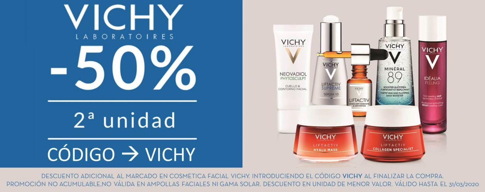 promocion vichy cosmetica facial