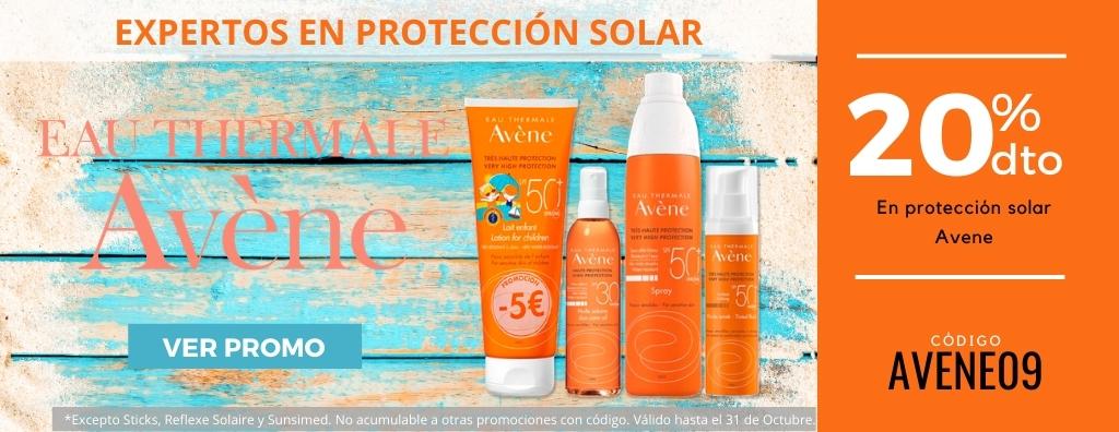 Promo solar Avene 20%