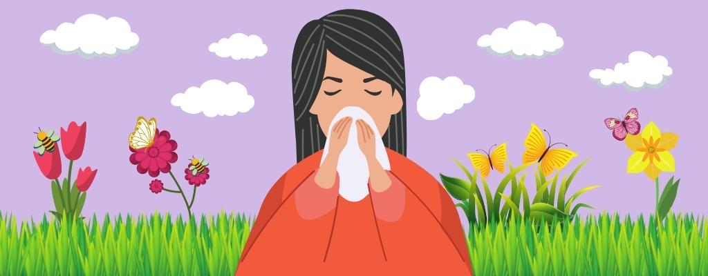 La alergia primaveral y sus síntomas