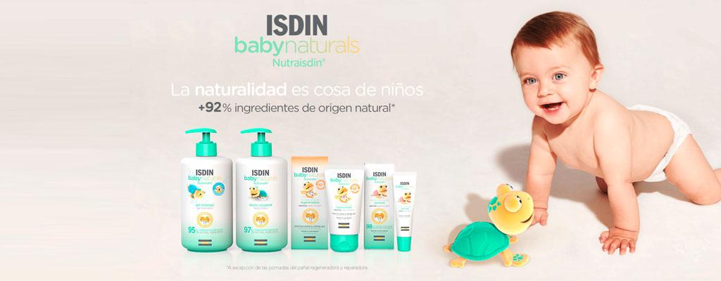 ¿Conoces la nueva gama de Isdin Baby Naturals?