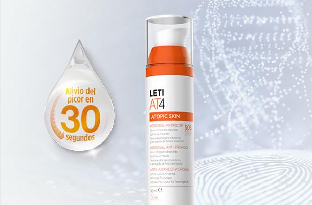 Leti AT4 Hidrogel antipicor - La solución para piel atópica