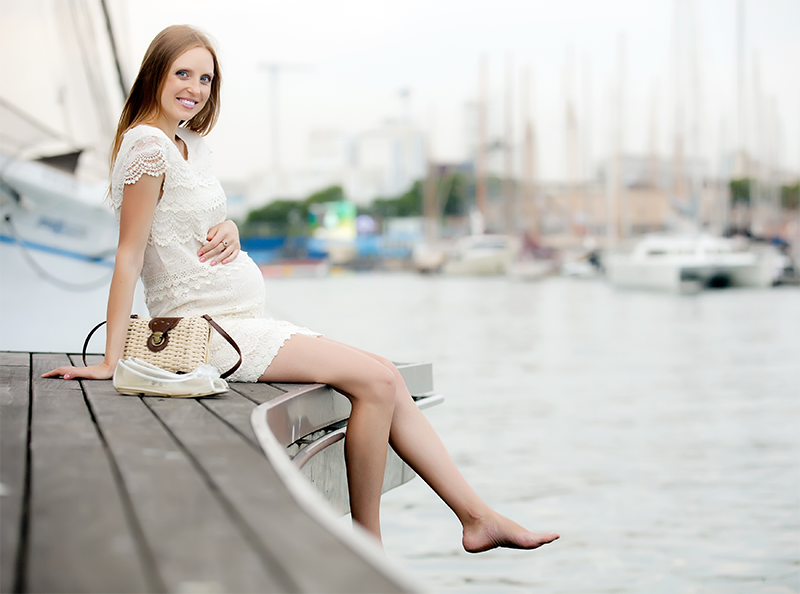 Como afrontar y disfrutar el verano embarazada