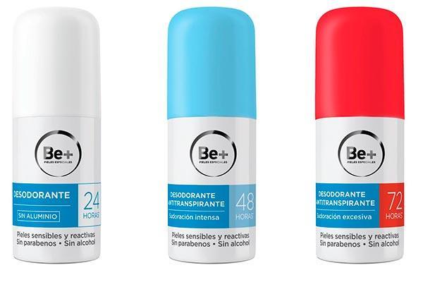 Be+ lanza una nueva gama de desodorantes