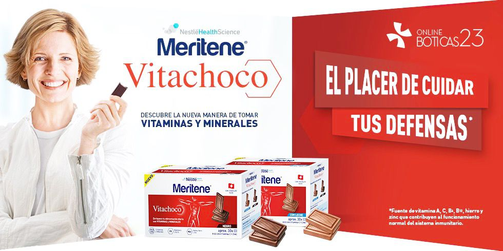 Vitachoco, las vitaminas con sabor a chocolate