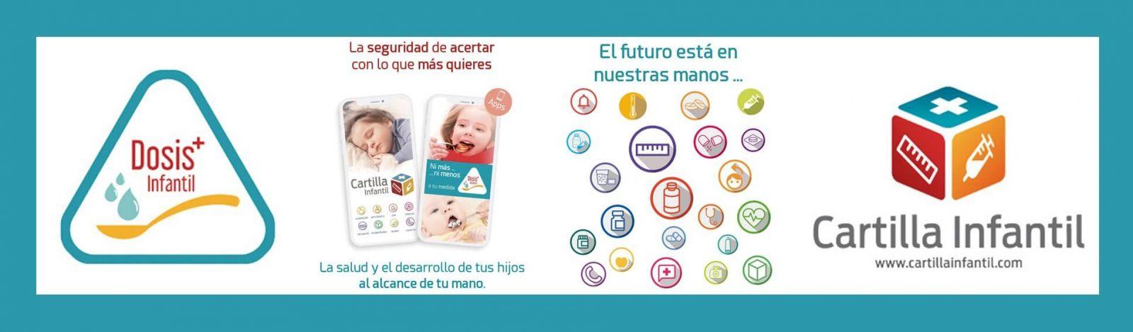 APP Dosis infantil y APP Cartilla infantil