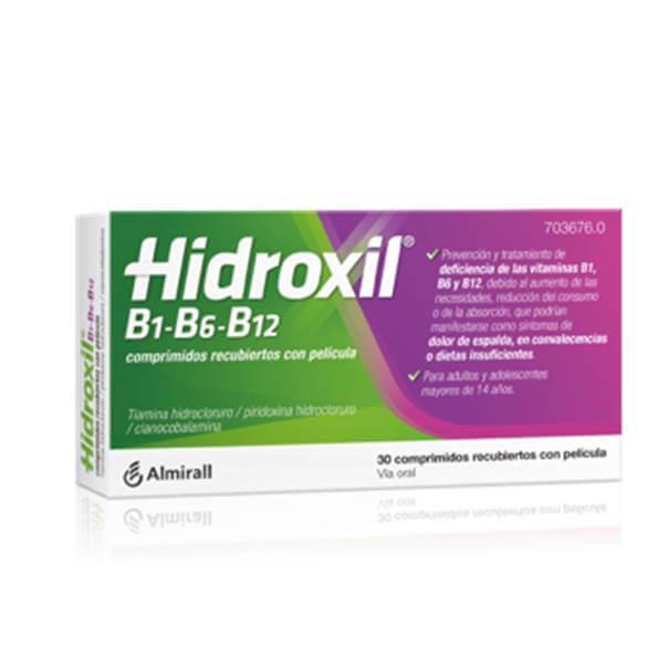 hidroxil 30 comprimidos