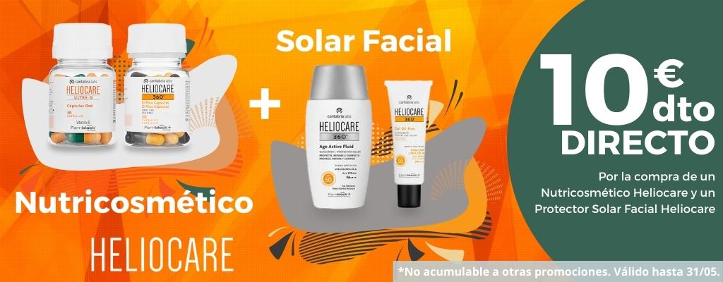 Heliocare Solar Facial + Nutricosmético