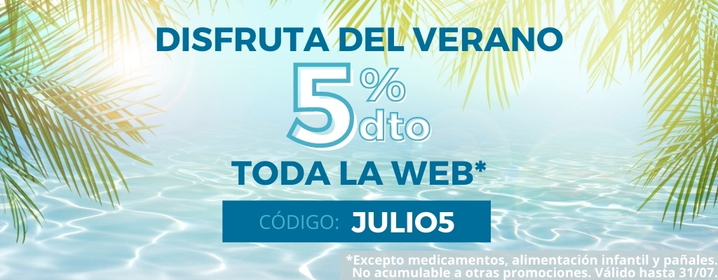 5% dto. toda la web