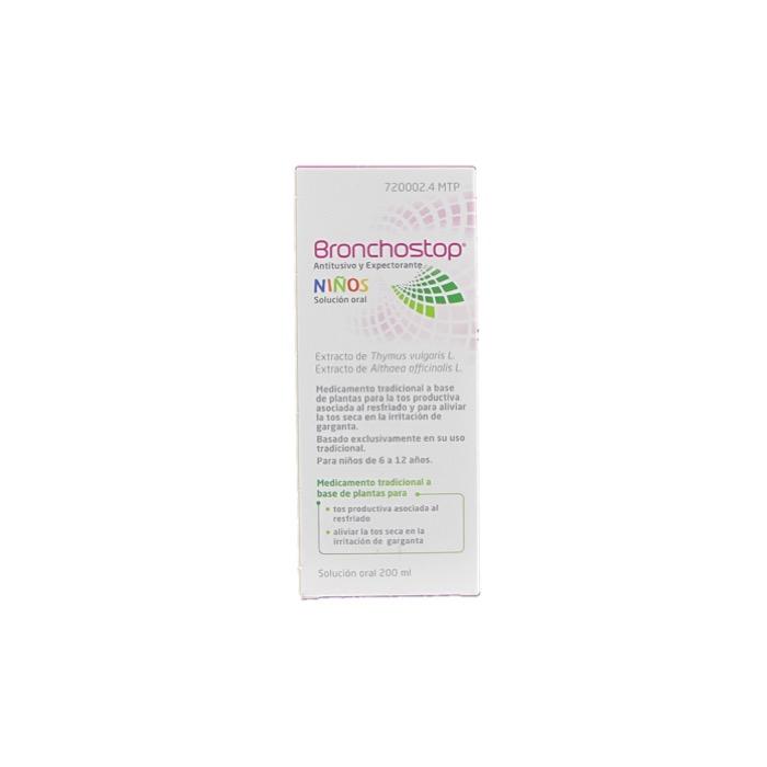 Bronchostop niños solucion oral 200ml