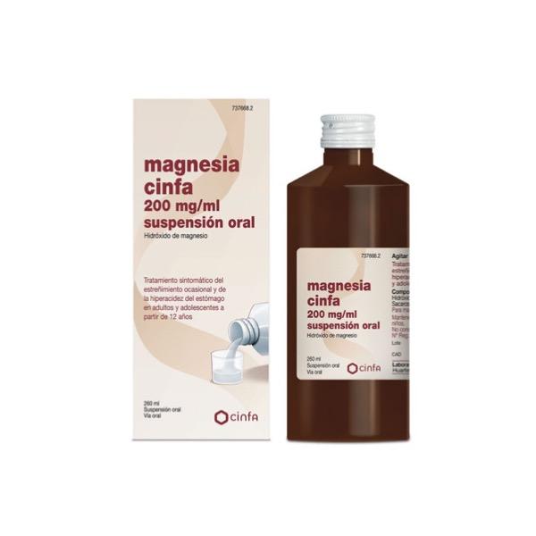 Magnesia cinfa suspension oral 300 ml