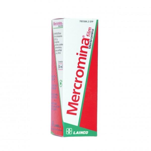 Mercromina film 30ml