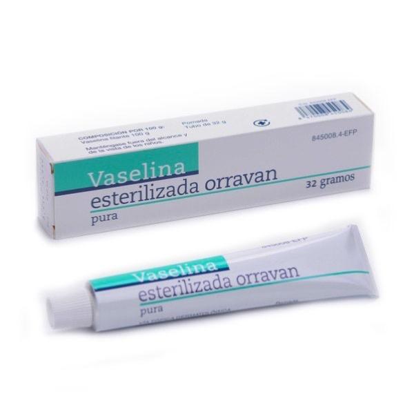 Vaselina pura esterilizada orravan 32 g