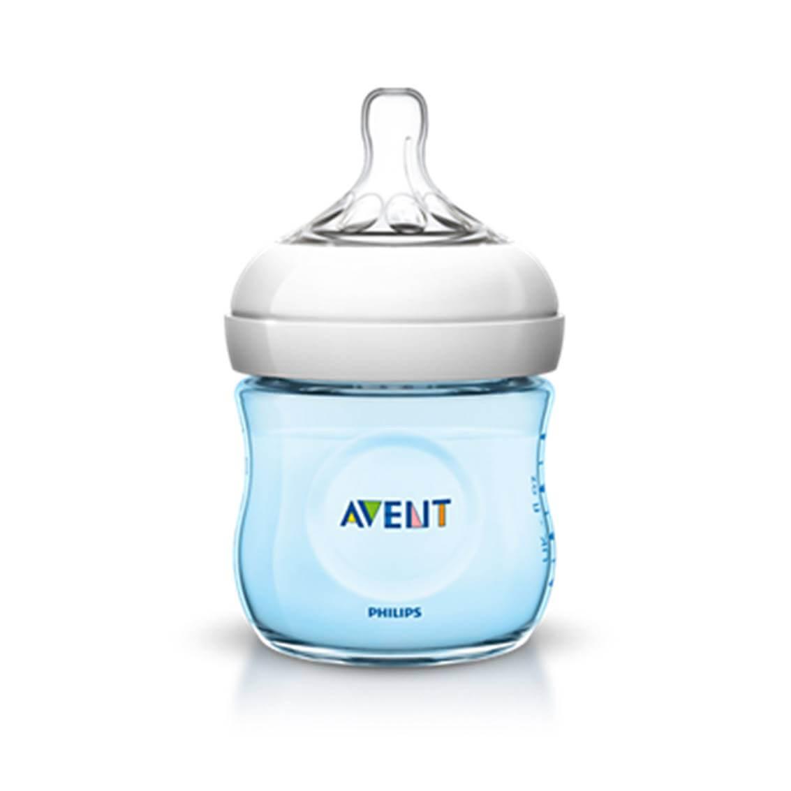 Avent Biberon Natural Azul 0+meses 125 ml