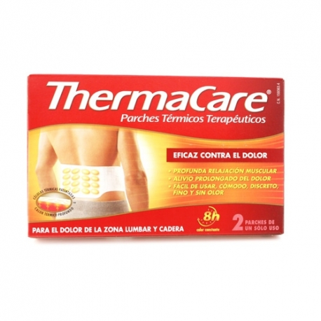 Thermacare lumbar/ cadera 2 parches termicos