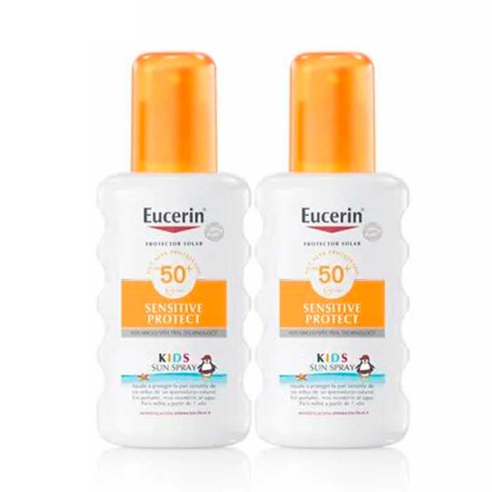 Eucerin Spray Infantil Spf50 Duplo 200 + 200 ml