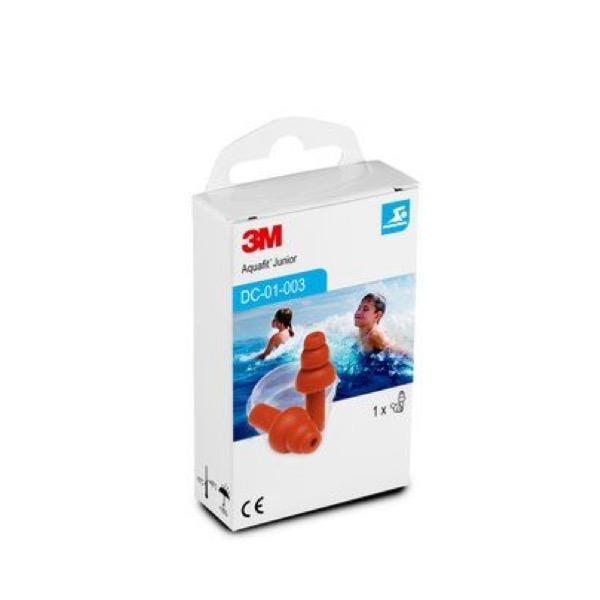 3M Tapones Aquafit Junior 1 par