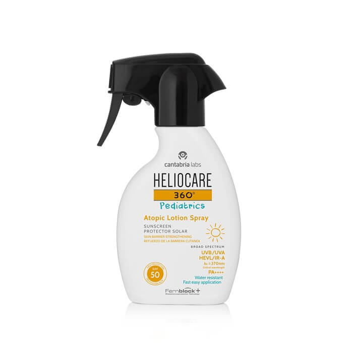 Heliocare 360 Pediatrics Atopic Spf50 Spray 250 ml