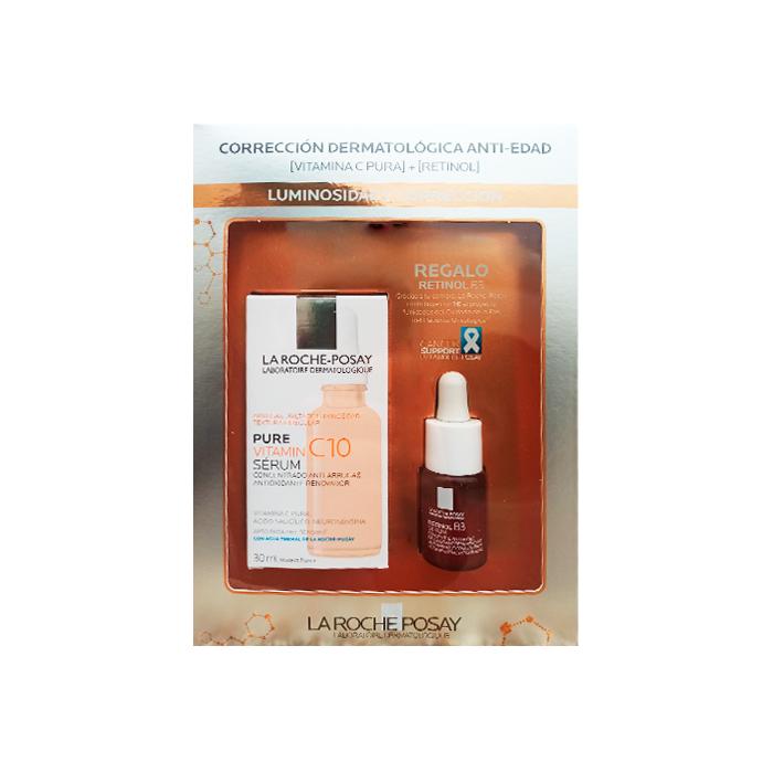La Roche Posay Pure Vitamin C10 Serum 30ml + Regalo Retinol B3 Serum 10ml