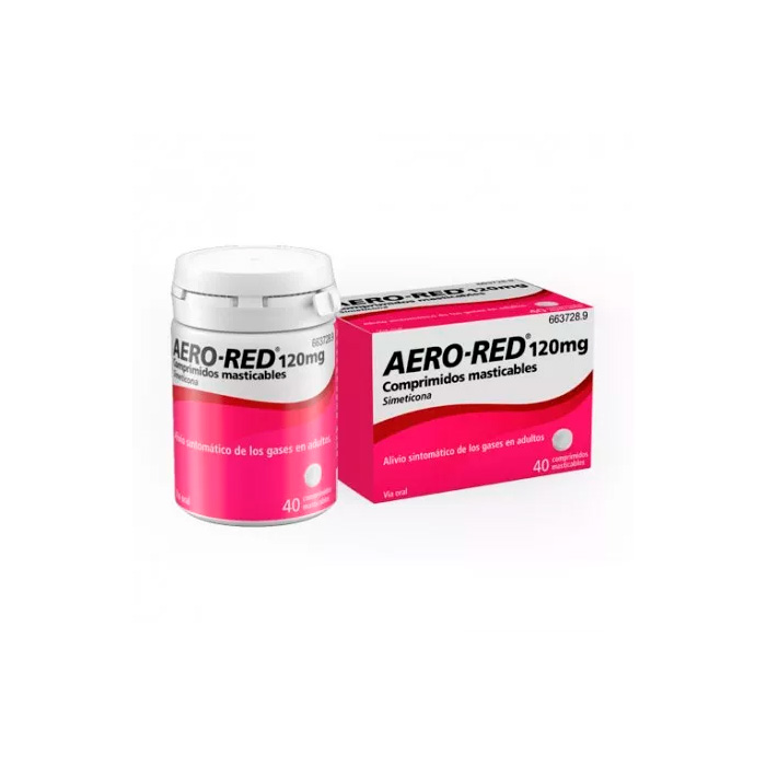 Aero-red 120 mg 40 Comprimidos Masticables