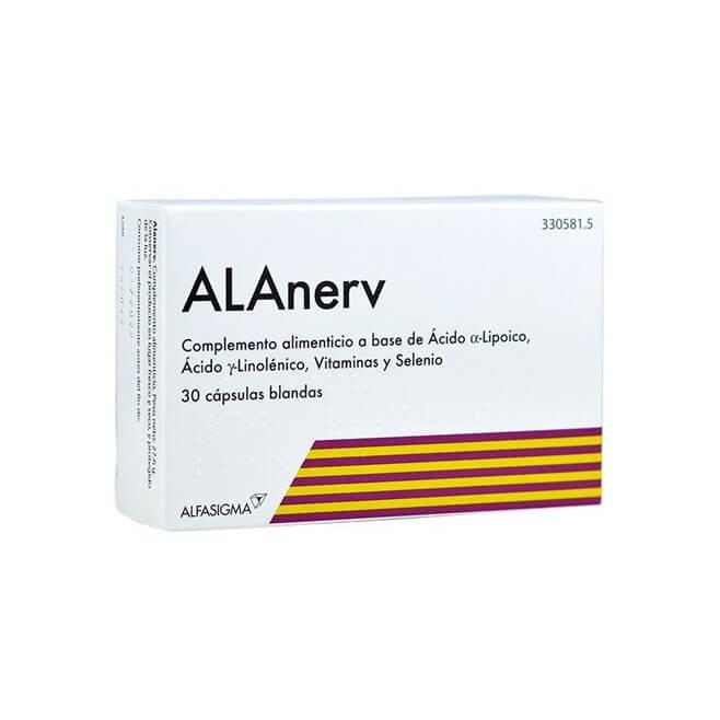 ALAnerv 30 Capsulas Blandas