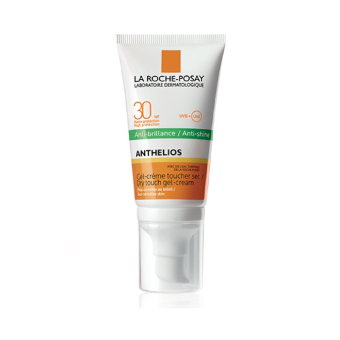 Anthelios Anti-brillos Gel-crema Toque Seco Spf30 50ml