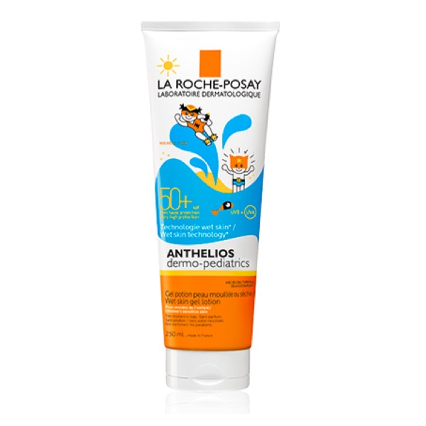 Anthelios dermo-pediatrics piel humeda gel spf50 250ml