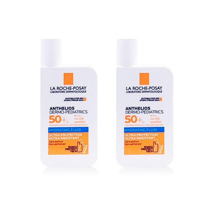 Anthelios Dermo Pediatrics Fluido Hidratante Shaka Spf50+ Duplo 50ml+50ml