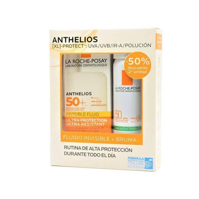 Anthelios Pack Shaka Fluid Spf50+ 50ml + Bruma Facial Spf50 75ml