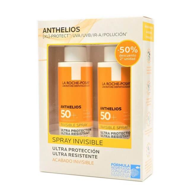 Anthelios Pack Spray Invisible Spf50+ Duplo 200ml+200ml