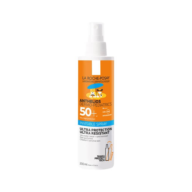 Anthelios Dermo Pediatrics Invisible Spray Shaka Protect Spf50+ 200ml