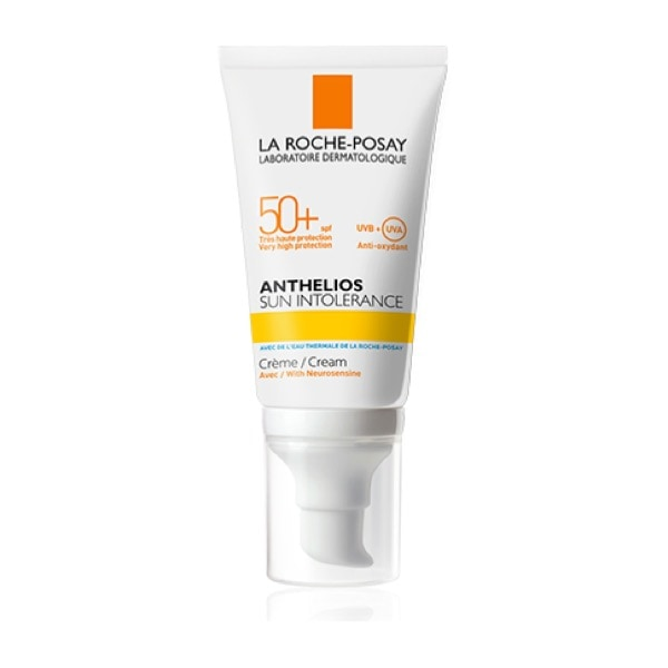 Anthelios Crema Solar Piel Intolerante +50spf 50 ml