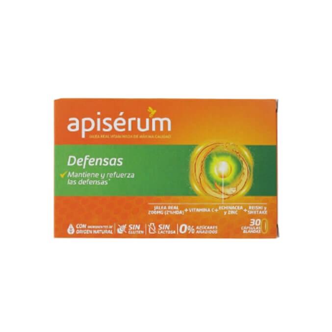 Apiserum Defensas Jalea Real 30 Capsulas