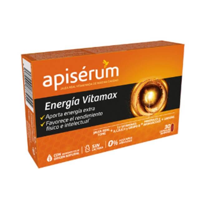 Apiserum Energia Vitamax Jalea Real 30 Capsulas